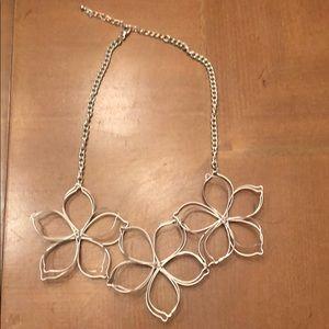 Unique flower necklace